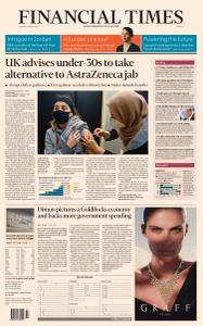 Financial Times Europe - April 8, 2021