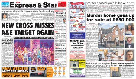 Express and Star City Edition – February 28, 2018
