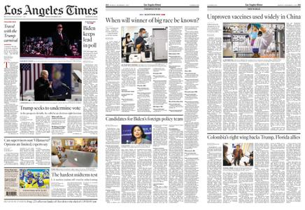 Los Angeles Times – November 02, 2020