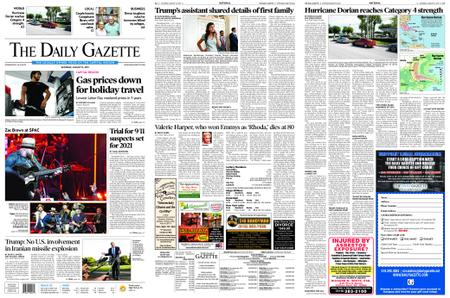 The Daily Gazette – August 31, 2019