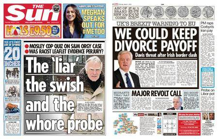 The Sun UK – 01 March 2018