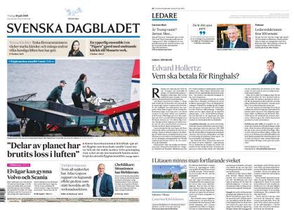 Svenska Dagbladet – 16 juli 2019