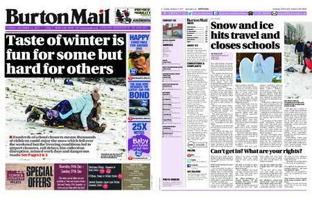 Burton Mail – December 12, 2017