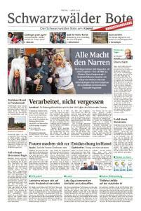 Schwarzwälder Bote Hechingen - 01. März 2019