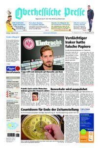 Oberhessische Presse Marburg/Ostkreis - 01. September 2018