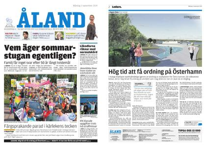 Ålandstidningen – 02 september 2019