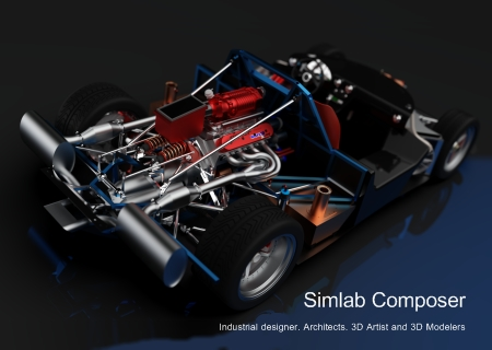 Simulation Lab Software SimLab Composer 8.2.1 (Win/Mac)