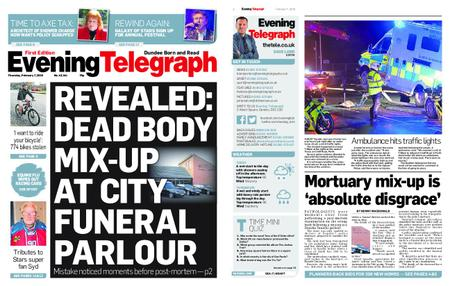 Evening Telegraph First Edition – February 07, 2019