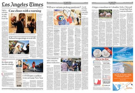Los Angeles Times – February 12, 2021