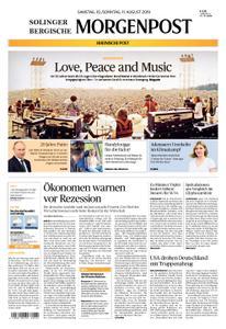 Solinger Morgenpost – 10. August 2019