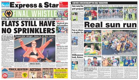 Express and Star City Edition – September 02, 2019