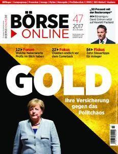 Börse Online - 23. November 2017