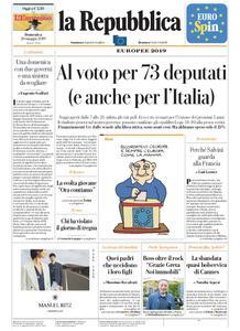 la Repubblica – 26 maggio 2019