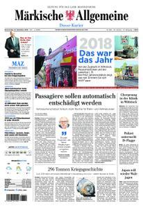 Märkische Allgemeine Dosse Kurier - 27. Dezember 2018