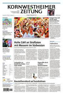 Kornwestheimer Zeitung - 28. September 2018