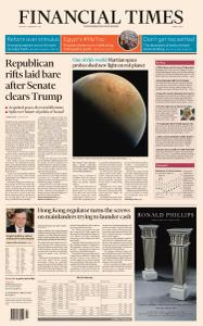 Financial Times Middle East - February 15, 2021