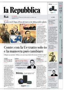 la Repubblica - 5 Dicembre 2018