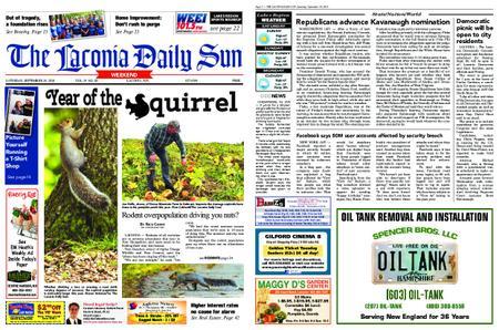The Laconia Daily Sun – September 29, 2018