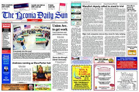The Laconia Daily Sun – August 07, 2018