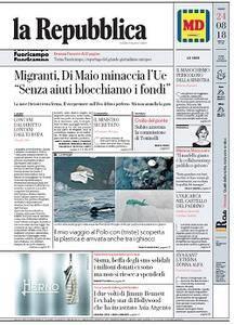 la Repubblica - 24 Agosto 2018
