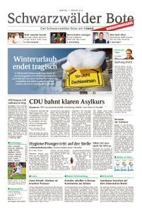 Schwarzwälder Bote Oberndorf - 11. Februar 2019