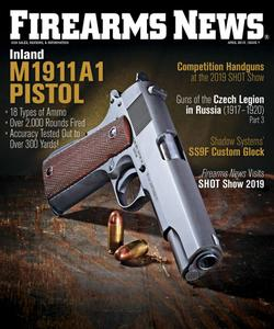Firearms News  - April 01, 2019