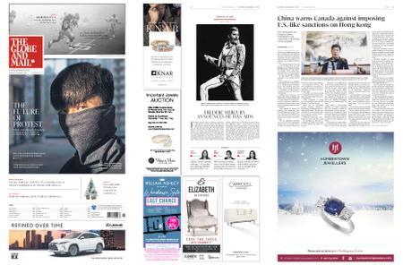 The Globe and Mail – November 23, 2019