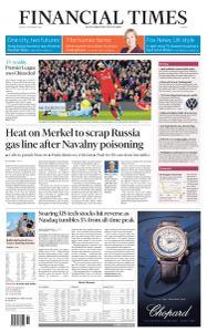 Financial Times Europe - September 4, 2020