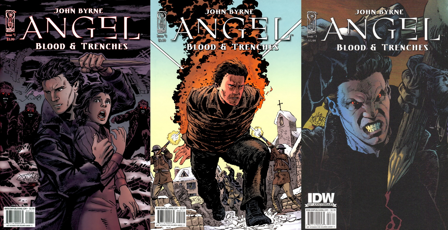 Angel Blood And Trenches ( 1 - 3 ) Ongoing