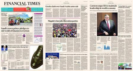 Financial Times Europe – 27 November 2017