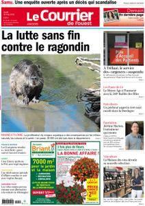 Le Courrier de l'Ouest Angers - 10 mai 2018