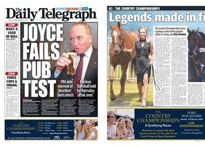 The Daily Telegraph (Sydney) – February 13, 2018