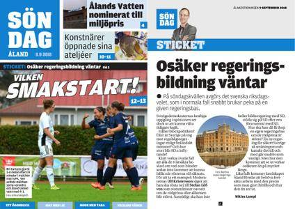 Ålandstidningen – 09 september 2018