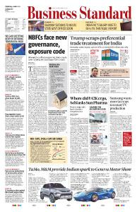 Business Standard - March 6, 2019