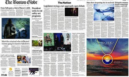 The Boston Globe – February 13, 2018