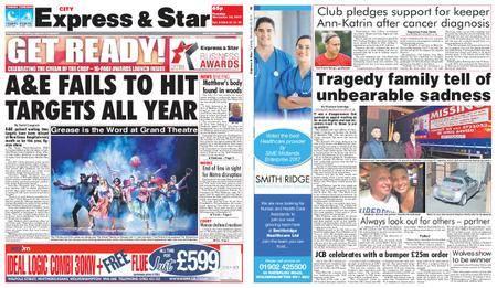 Express and Star City Edition – November 28, 2017