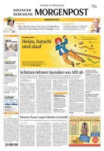 Solinger Morgenpost – 18. Februar 2020