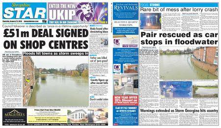 Shropshire Star Shrewsbury Edition – January 25, 2018