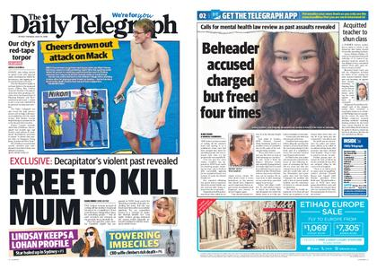 The Daily Telegraph (Sydney) – July 23, 2019
