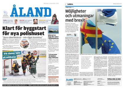 Ålandstidningen – 16 december 2019