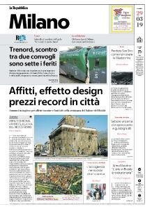 la Repubblica Milano - 29 Marzo 2019