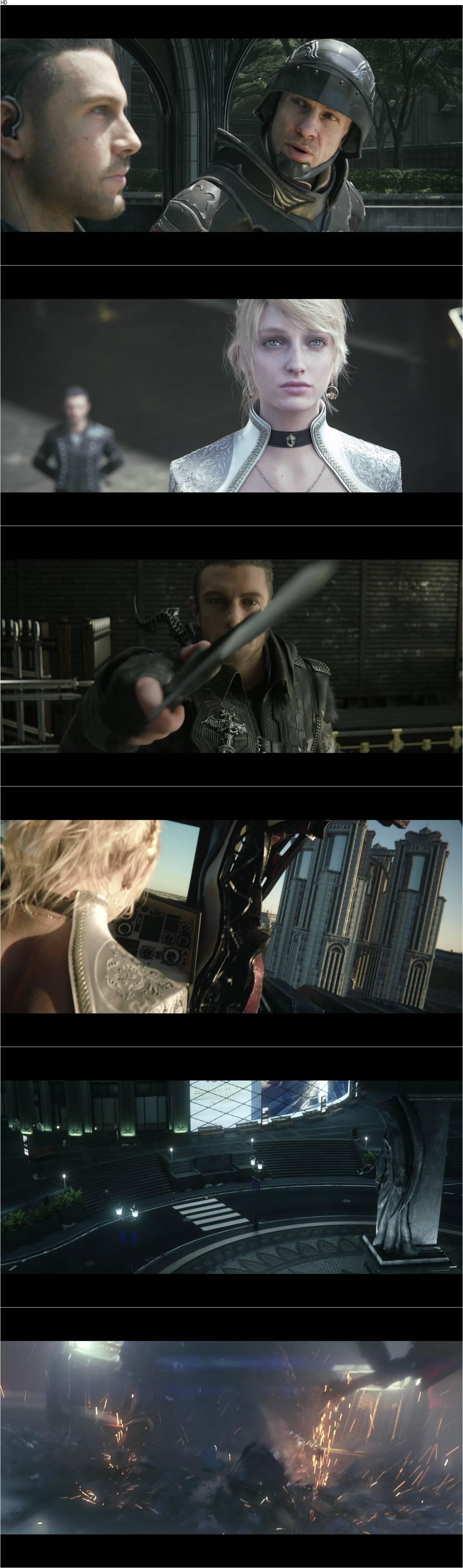 Kingsglaive Final Fantasy Xv 2016 Avaxhome