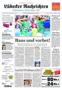 Lübecker Nachrichten Ostholstein Süd - 28. Juni 2018