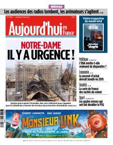 Aujourd'hui en France du Vendredi 19 Avril 2019