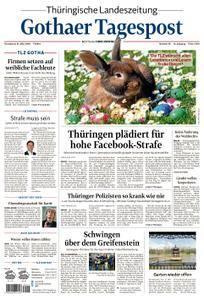 Thüringische Landeszeitung Gothaer Tagespost Gotha - 31. März 2018