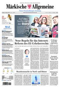 Neue Oranienburger Zeitung - 15. Februar 2019