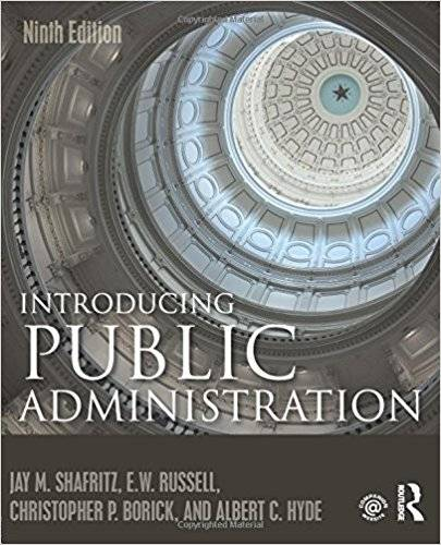 Introducing Public Administration, 9th Edition