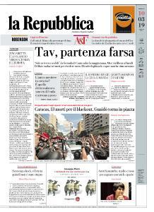 la Repubblica - 10 Marzo 2019