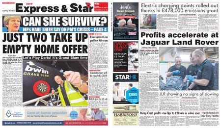 Express and Star City Edition – November 10, 2017