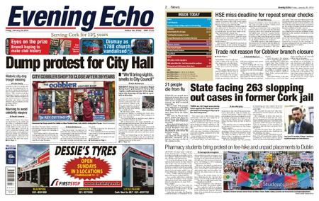 Evening Echo – January 25, 2019